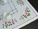 Ręcznie haftowane serweta 80x80 (76)