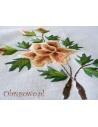 Obrus haft ręczny Róża Herbaciana 140x280
