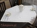 Serweta haftowana ręcznie 85x85 (HM20)