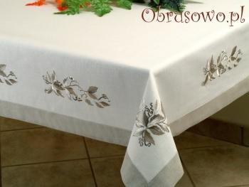 Obrus haftowany JAGNA 140x250