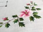 Ręcznie haftowane serweta 90x90 (76)
