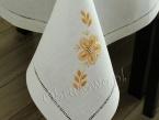 Obrus ręcznie haftowany  140x220 (p)