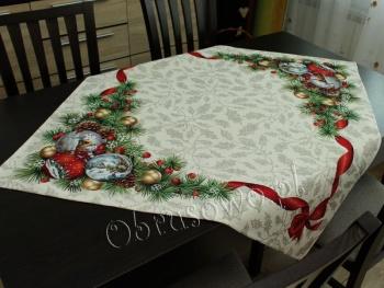 Serweta świąteczna gobelin 98x98
