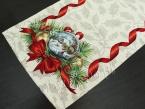 Bieżnik świąteczny gobelin 42x140