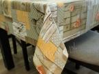 Obrus bawełniany HOME - beż